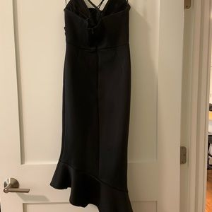 ASOS Dresses - Asos black scuba cami peplum dress
